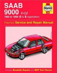 Руководство по ремонту SAAB 9000 4-cyl 1985 - 1998 ( C to S registration )