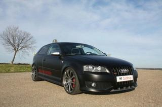 MR Car Design представляет Audi S3 Black Performance Edition