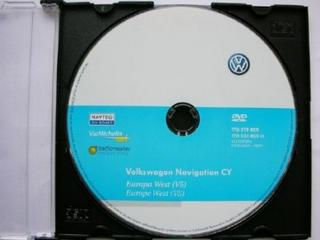 Volkswagen DVD Navigation Europe West V5 2009 - Оригинальный DVD с навигацией для Volkwagen.