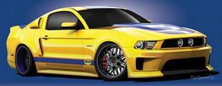 2010 Ford WD-40SEMA Cares Mustang