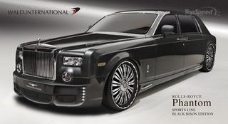 2010 Rolls Royce Phantom Sports Line Black Bison Edition от Wald International