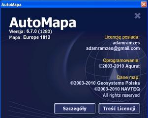 AutoMapa 6.7.0 ( Europe + Russia 2010 MULTI )