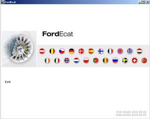Ford ECAT ( 05-2010 Multi + RUS ) - Каталог автозапчастей Ford
