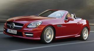 2012 Mercedes-Benz SLK Roadster раскрыт