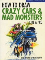 How to draw. Crazy cars & mad monsters like a pro